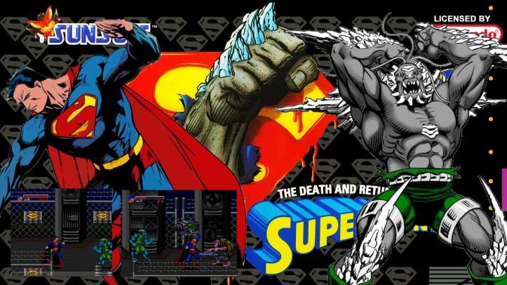 JOGA BIGNADA - Death and Return of Superman (SNES) - Melhor Jogo do Superman