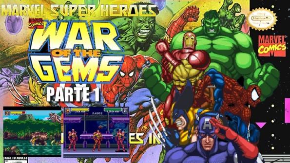 Joga Bignada - Marvel Super Heroes - War of the Gems (SNES) - Parte 1 - Jogo que previu Vingadores - Guerra Infinita - Capa Variante