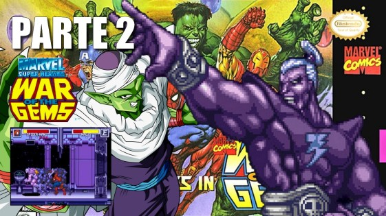 Joga Bignada - Marvel Super Heroes - War of the Gems (SNES) - Parte 2 - Magus, o Picollo da Marvel