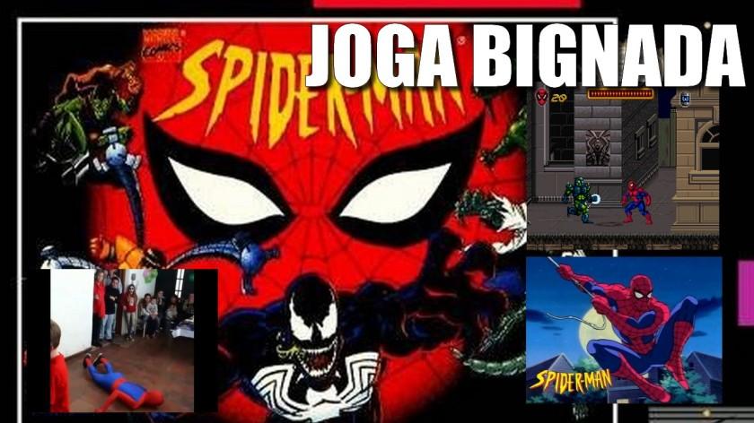 Joga Bignada - Spider-Man (SNES) - Série Animada Boa, Jogo Ruim