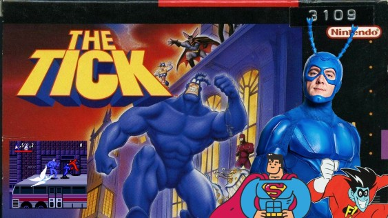 Joga Bignada - The Tick (Snes) - O Limiar entre Superman e Freakazoid