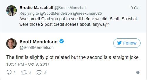 Scott Mendelson confirma dus cenas pós-créditos em Thor - Ragnarok