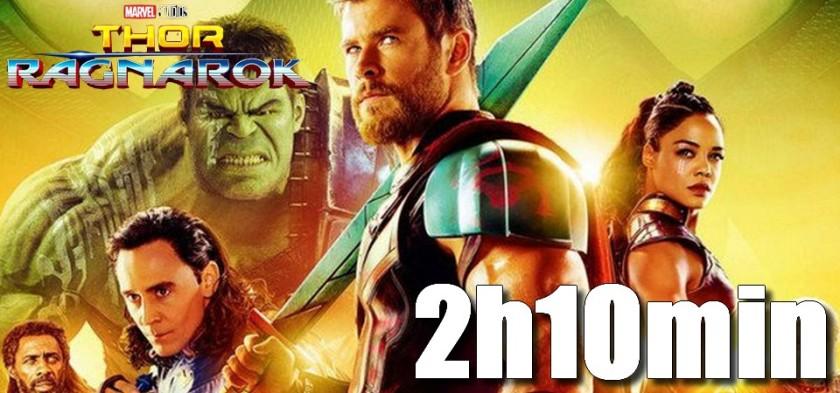 Thor Ragnarok tem sua duração oficial revelada