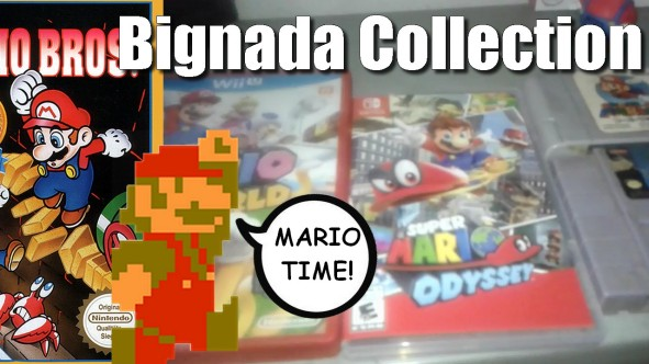 Bignada Collection - Jogos de Super Mario Bros do Snes até Switch