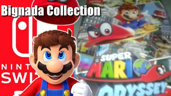 Bignada Collection - Super Mario Odyssey do Nintendo Switch