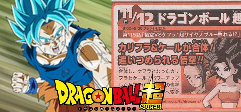 Dragon Ball Super - Preview da Weekly Shonen Jump do Episódio 115