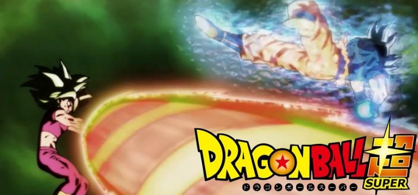 Goku Ultra Instinto derrota Kefla com um Kamehameha (Dragon Ball Super - Episódio 116)