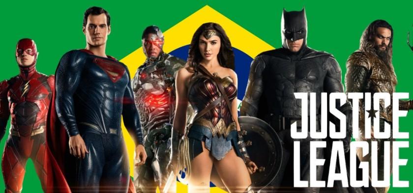Liga da Justiça - Filme é a maior estreia da história do Brasil