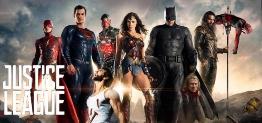 Liga da Justiça - Heróis da DC matam Heróis da Marvel em Poster Chinês