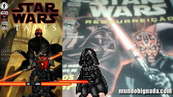 Bignada Collection - Star Wars - Ressurreição - Darth Maul Vs. Darth Vader - Semana Star Wars