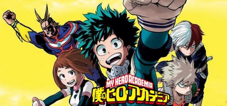 Boku no Hero Academia vai ganhar filme em 2018