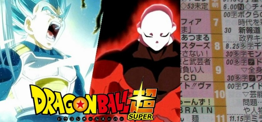 Dragon Ball Super - Título do Episódio 123 do anime