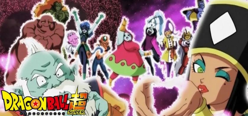 Dragon Ball Super - Universo 2 e Universo 6 são apagados por Zen Oh