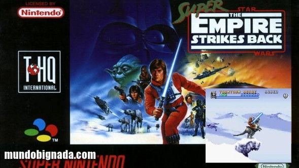 Joga Bignada - Super Star Wars - Empire Strikes Back (SNES) - Star Souls [Semana Star Wars]