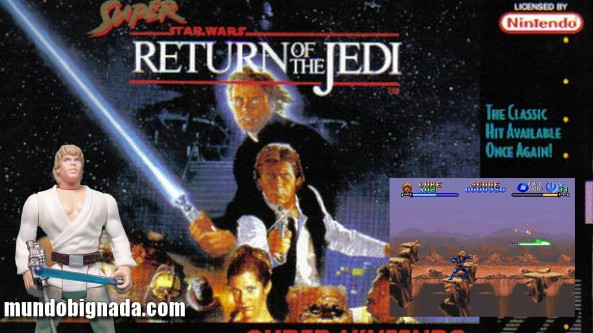 Joga Bignada - Super Star Wars - Return of the Jedi (SNES) - Luke Bombado [Semana Star Wars]
