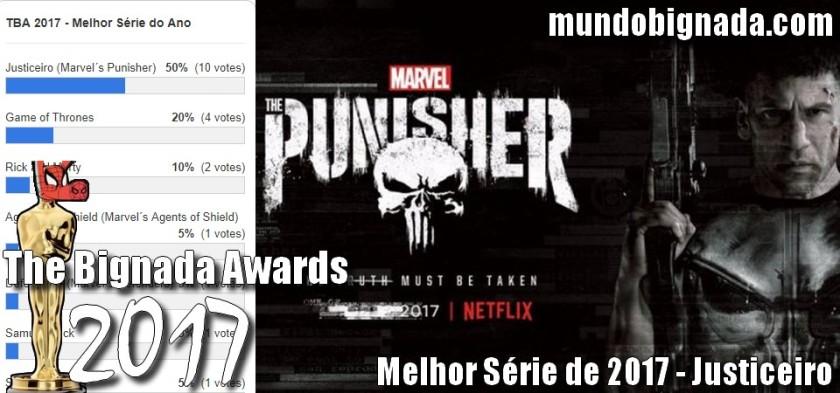Justiceiro - Melhor Série de 2017 no The Bignada Awards