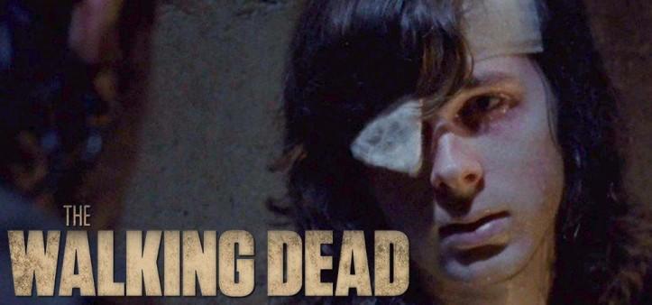 The Walking Dead - Carl é mordido no Mid Season Finale da Season 8