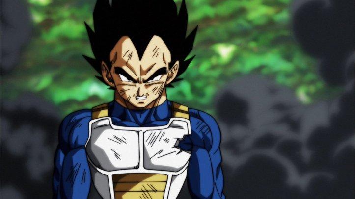 Vegeta em Dragon Ball Super - Episódio 122