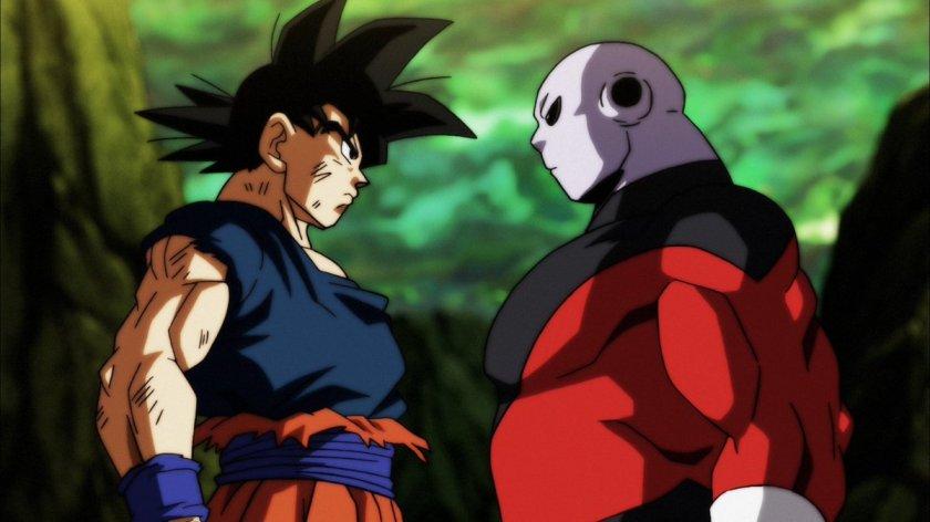 Goku Vs. Jiren em Vegeta em Dragon Ball Super - Episódio 122