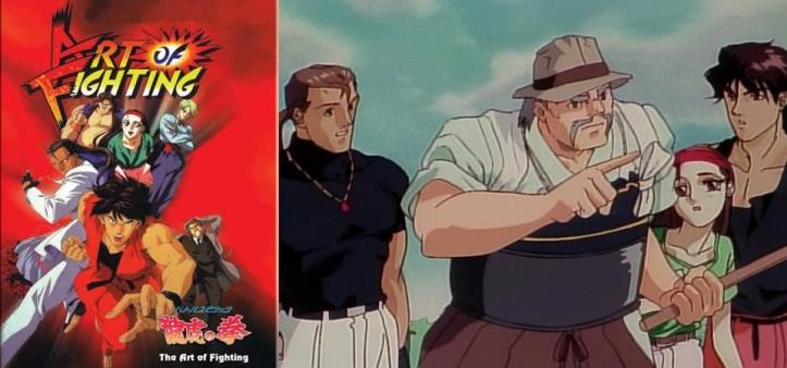 Art of Fighting - Anime