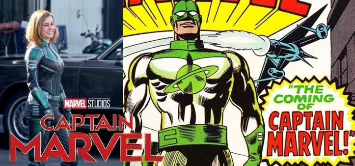 Capitã Marvel aparece de uniforme verde no set de filmagem