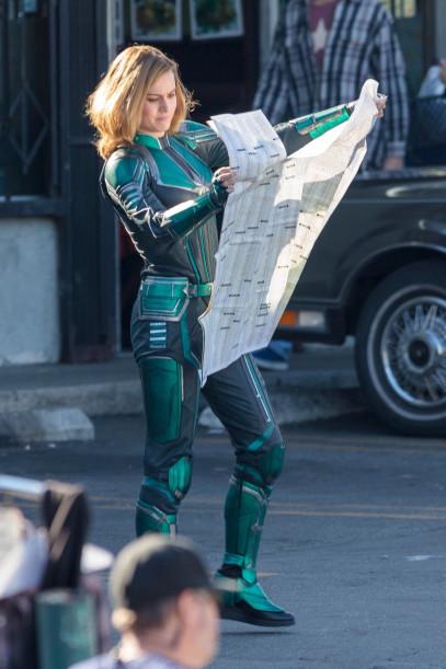 Brie Larson - Capitã Marvel - Uniforme Verde 03