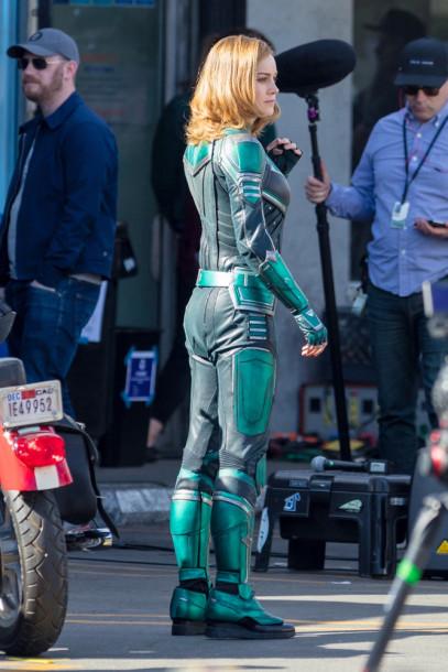 Brie Larson - Capitã Marvel - Uniforme Verde 06