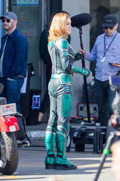 Brie Larson - Capitã Marvel - Uniforme Verde 07