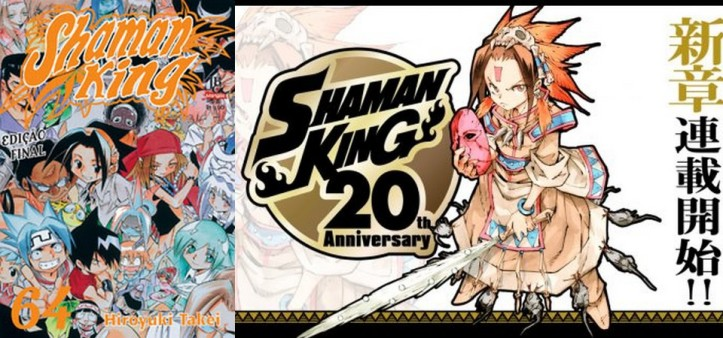 Mangá de Shaman King vai ganhar novos capítulos