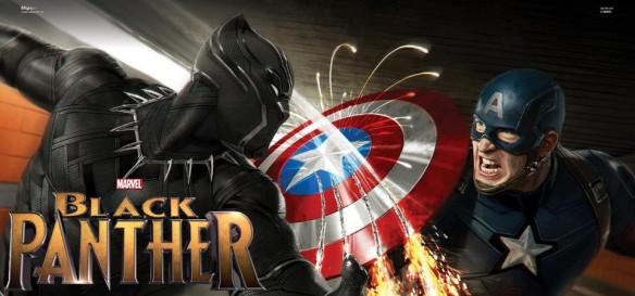 Pantera Negra supera Capitão América - Guerra Civil na pré venda de ingressos nos EUA