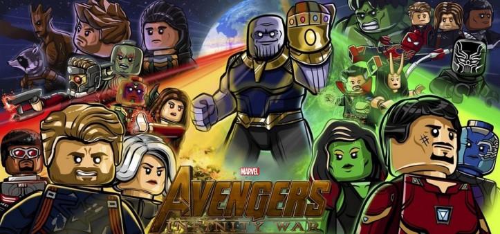 Vingadores - Guerra Infinita - Bonecos Lego vazam toda a história do filme