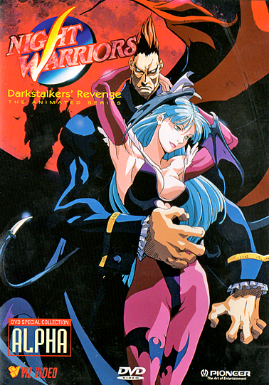 Night Warriors: Darkstalkers' Revenge (1997) - Anime
