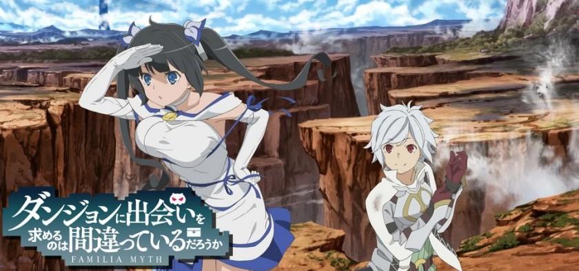 Danmachi - Anime vai ganhar season 2 e filme em 2018
