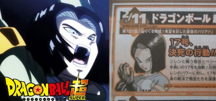 Dragon Ball Super - Preview da Weekly Shonen Jump do Episódio 127