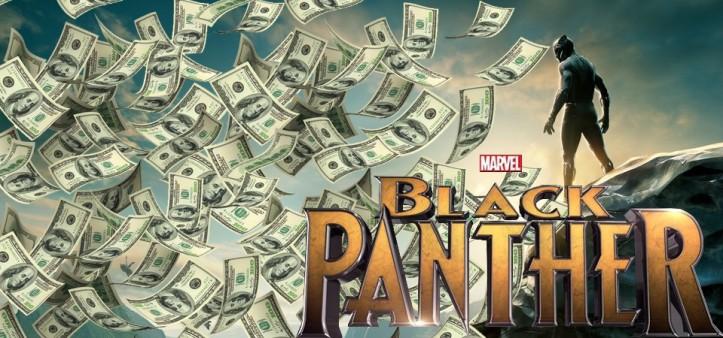 Pantera Negra deve estrea com 150 milhões de bilheteria