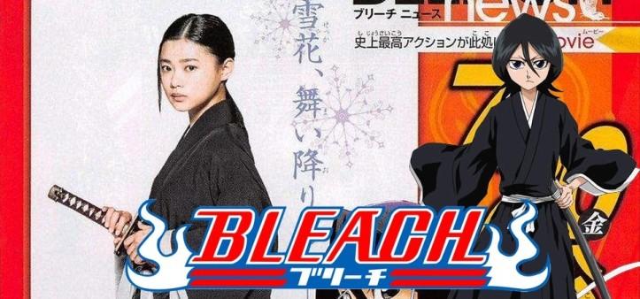 Primeira imagem oficial da Rukia em Bleach Filme Live Action