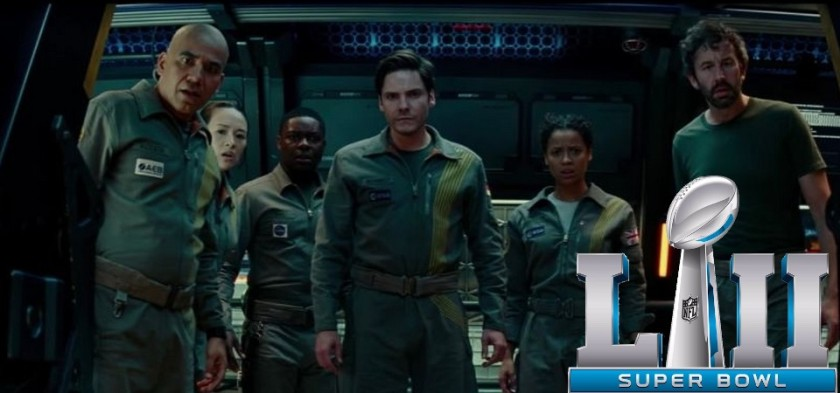 The Cloverfield Paradox - TV Spot do Super Bowl - Filme estreia hoje no Netflix