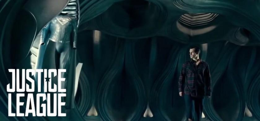 Uniforme Negro do Superman em cena deletada de Liga da Justiça