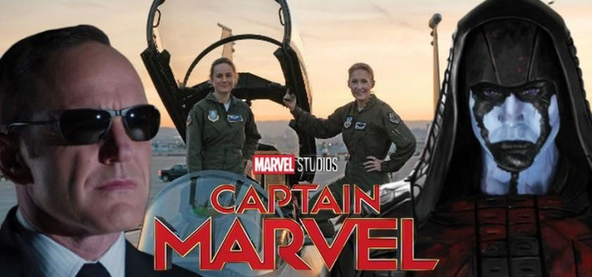 Agent Coulson, Ronan e Korak irão voltar em Capitã Marvel