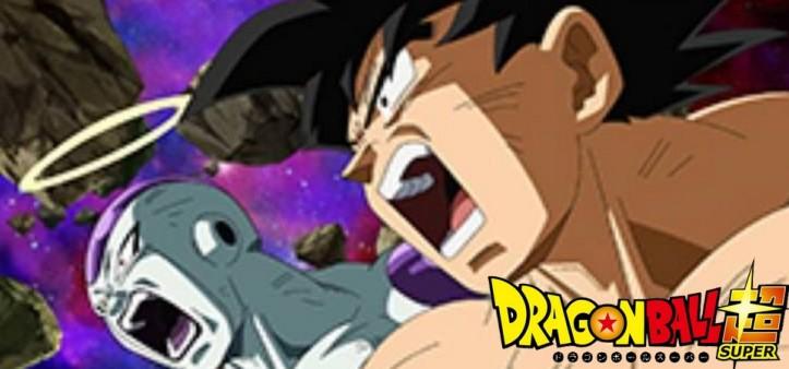 Dragon Ball Super - Goku e Freeza lutando juntos no Episódio 131 do anime