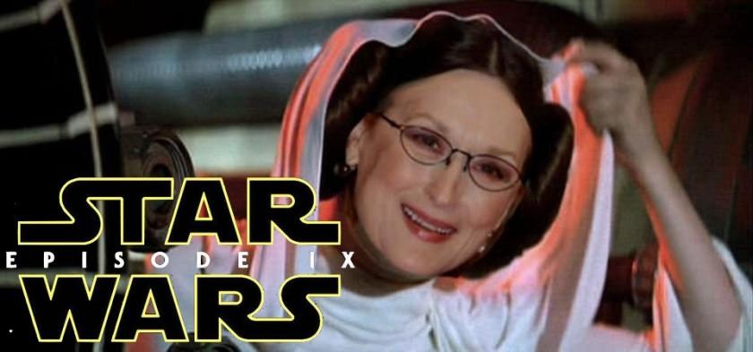 Fãs criam petição para Maryl Streep substituir Carrie Fisher em Star Wars - Episódio IX