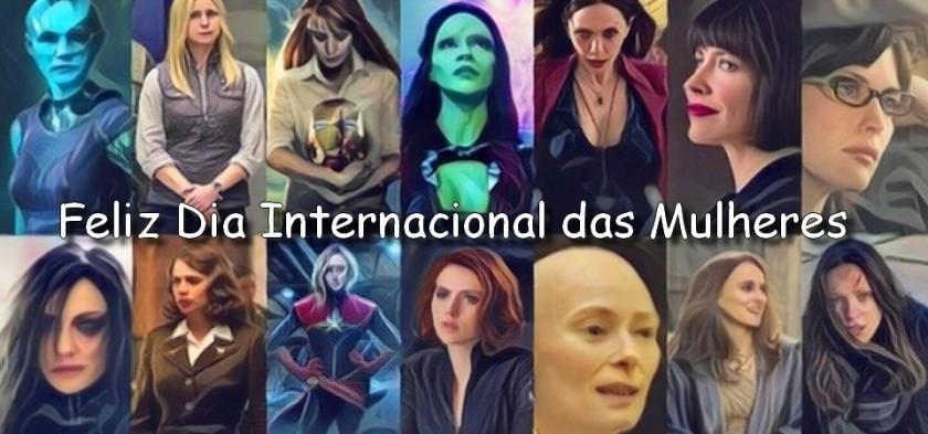 Feliz Dia Internacional das Mulheres 2018