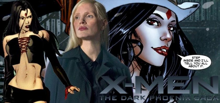 Jessica Chastain pode ser a vilã Srta. Sinistra em X-Men - Fênix Negra