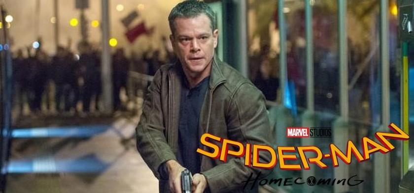 Matt Damon pode ser vilão de Homem-Aranha De Volta ao Lar 2