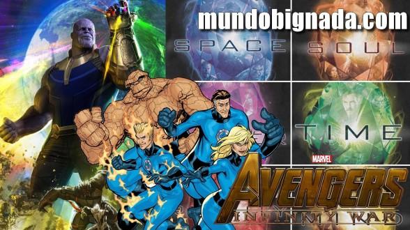 Quarteto Fantástico no MCU, Fase 4 e Jóia da Alma em Vingadores - Guerra Infinita - Bignada News
