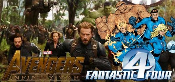 Quarteto Fantástico Vingadores no cinema