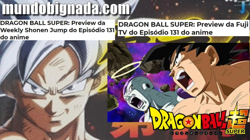 Spoilers do Último Episódio de Dragon Ball Super - BIGNADA NEWS