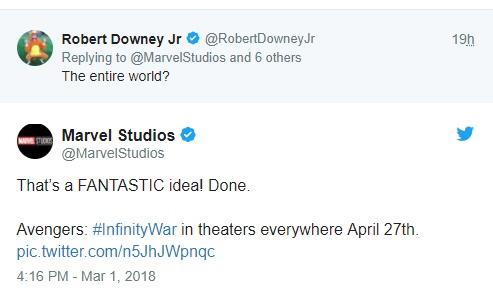 Twitter da Marvel Studios dá pista sobre Quarteto Fantástico no MCU