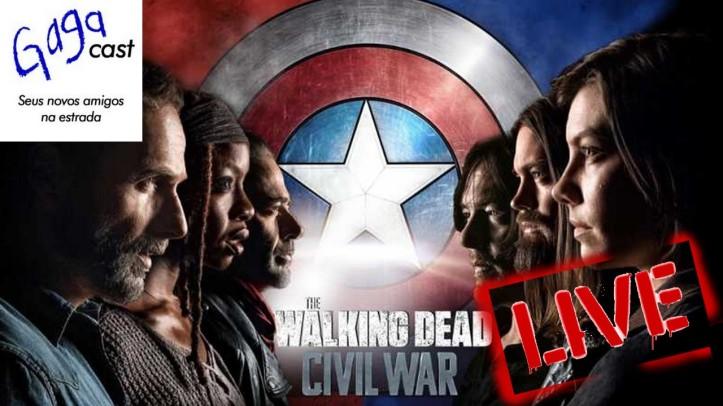 Hangout #10 - The Walking Dead e Vingadores - Guerra Infinita