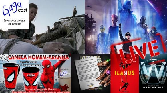Hangout #8 - 1º Sorteio, Icarus, The Walking Dead, Westworld e Vingadores
